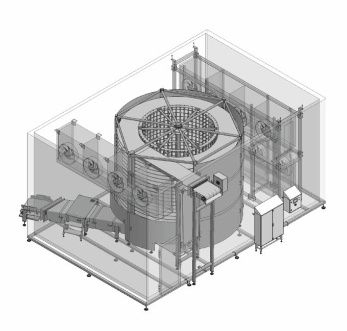 Shock freezing spiral system - COOLING AND FREEZING SYSTEMS