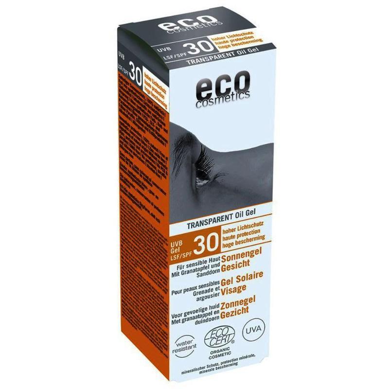ECO Sonnengel Gesicht LSF 30 - 30ml transparent mit... - null
