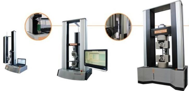 Zugprüfmaschinen Materialprüfmaschinen - Werkstoffprüfmaschinen Zugversuche Druckversuche Biegeversuche ZyklenVersuche