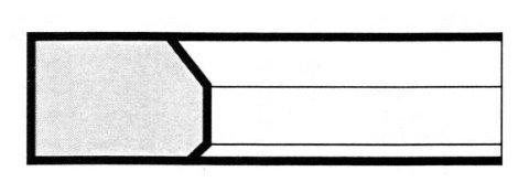 E7 Torsionale a smusso interno - Segmenti di compressione a Milano