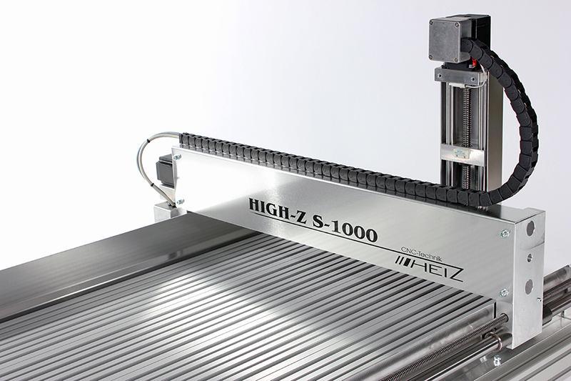 CNC Graviermaschine High-Z S-1000 - Portalmaschine zum Gravieren und Fräsen