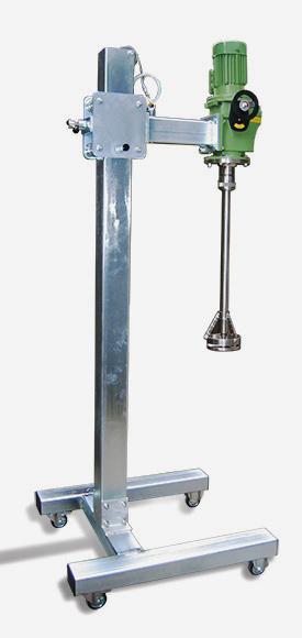 Rühr- und Mischturbinen für Flüssigkeiten - null