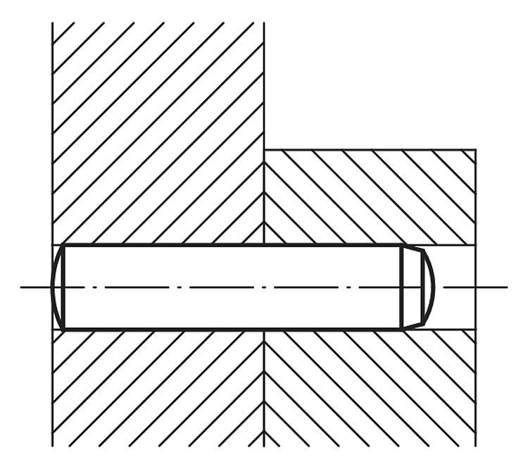 Goupille cylindrique DIN 6325 - Cales parallèles, lardons goupilles cylindriques