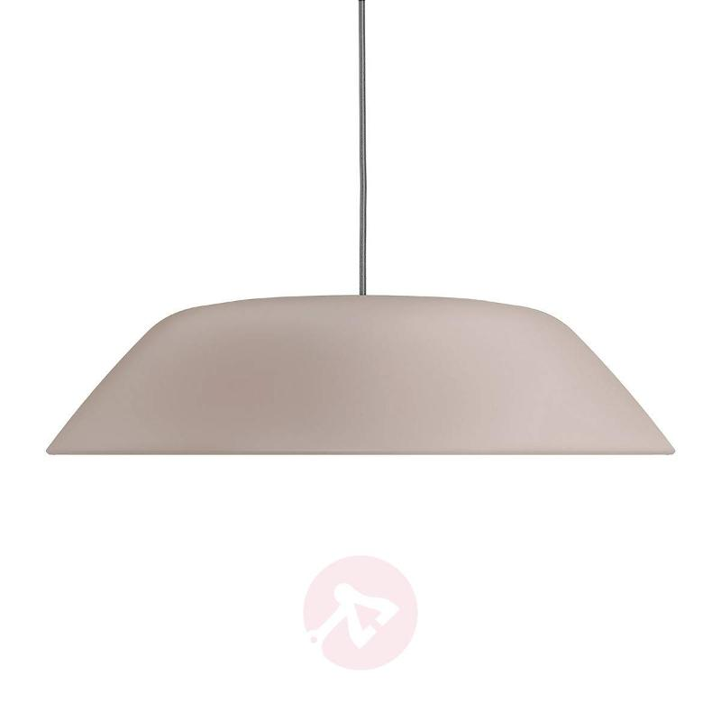 LED hanging light Fado in light brown - Pendant Lighting