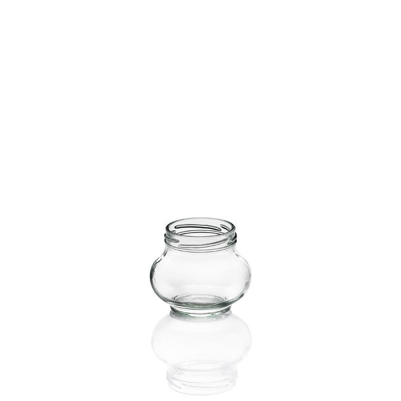 12 tarros en vidrio WECK Fête®  - 235 ml TWIST-OFF con cápsula Ø 63 mm incluida