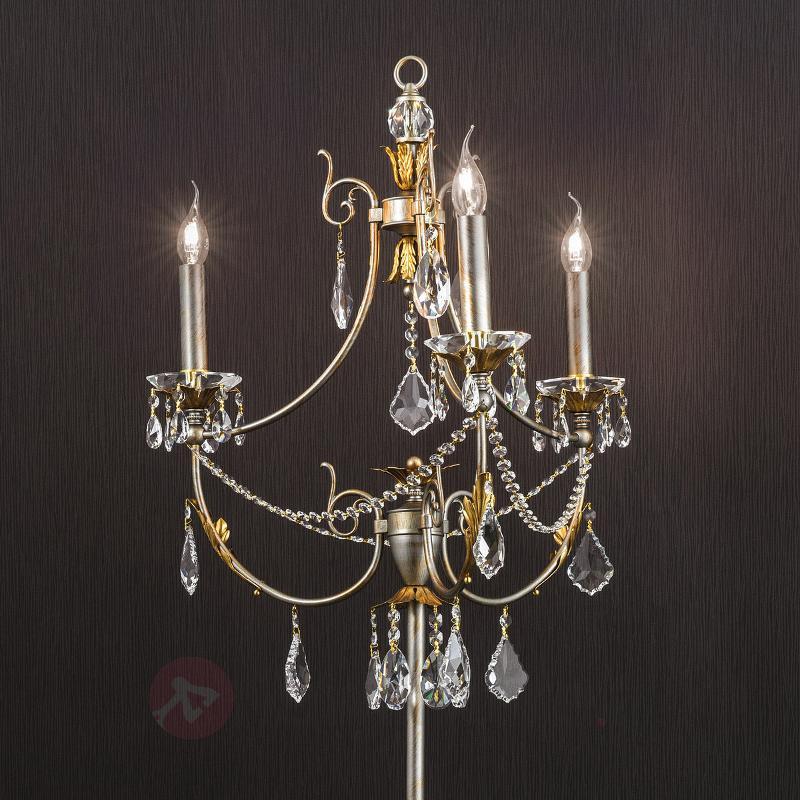 Lampadaire Miramare doré-argenté - Tous les lampadaires