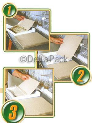 Litera en papel gofrado para Animales de compañía - PAPELES PARA LA GANADERIA