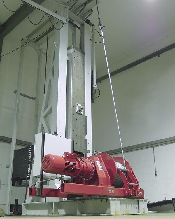 winch - ESG series - Torno de cable con electromotor ESG, capacidad de tracción de 125 kg - 2100 kg