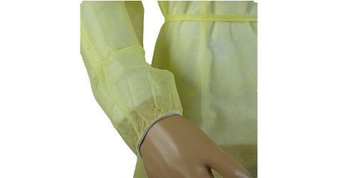 Robe chirurgicale jaune -