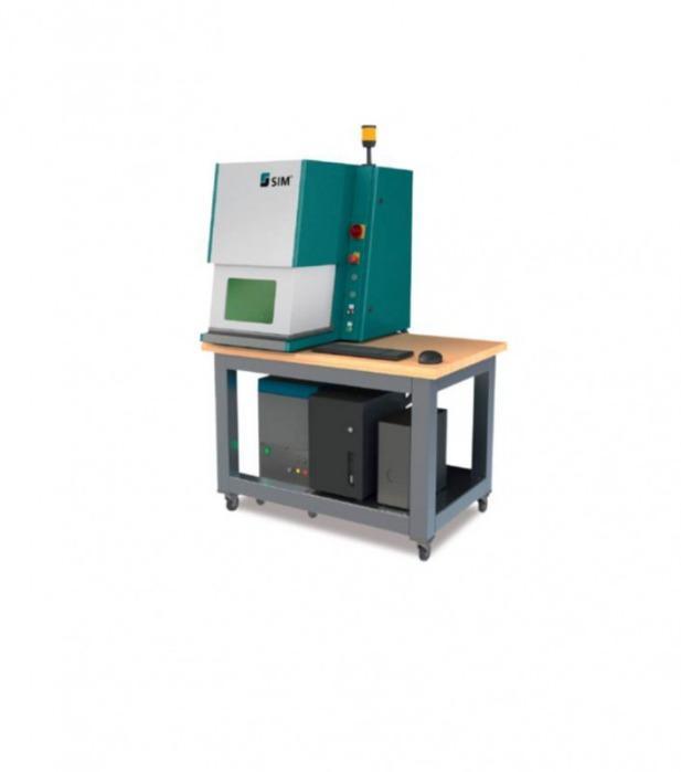 Automatisiertes Laserbeschriftungssystem SIM-Marker Compact - Lasermarkiersystem zur Beschriftung ihrer Produkte verschiedenster Materialien