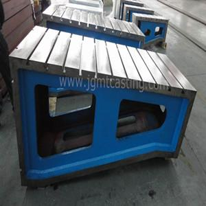 Angle Plate - Material: grey cast iron GG25 (HT-250);   Surface DIN876/III, DIN876/II machined