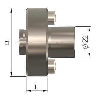 Zwischenadapter AD 50-22 - null