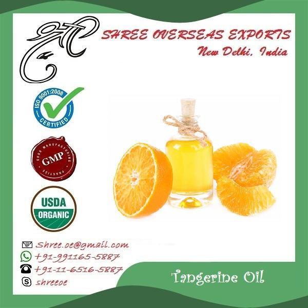 Organic Tangerine Oil - USDA Organic
