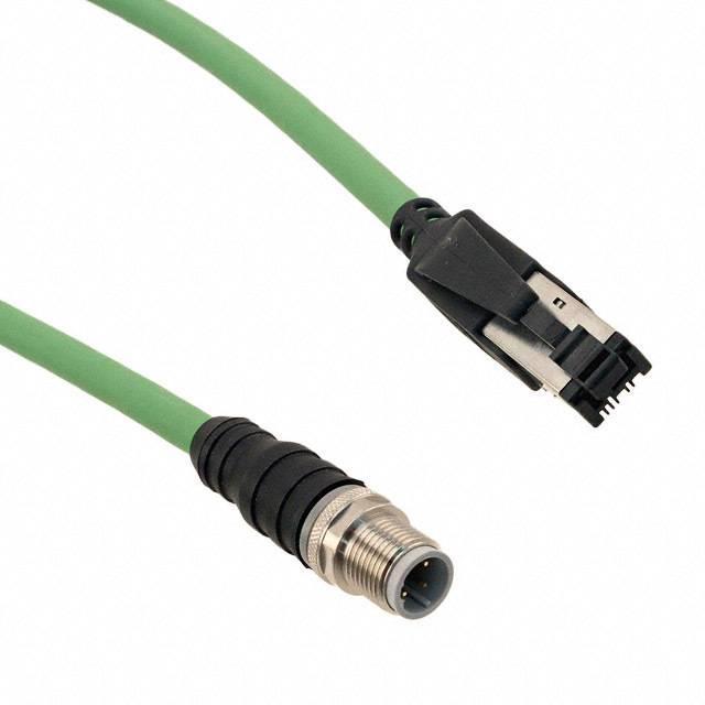 RJI CBL IP20 M12 4XAWG 22/7 3M - HARTING 09457005025