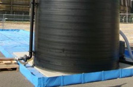 Bac de rétention souple pliable - 12000 litres - bac... - Bacs de rétention souples