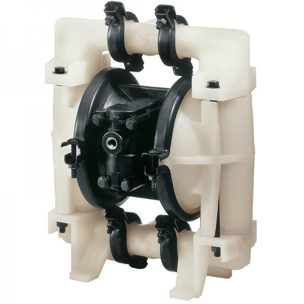 "Double diaphragm pump 1"" made of PVDF (band clamp version) - Non-Metallic Version"