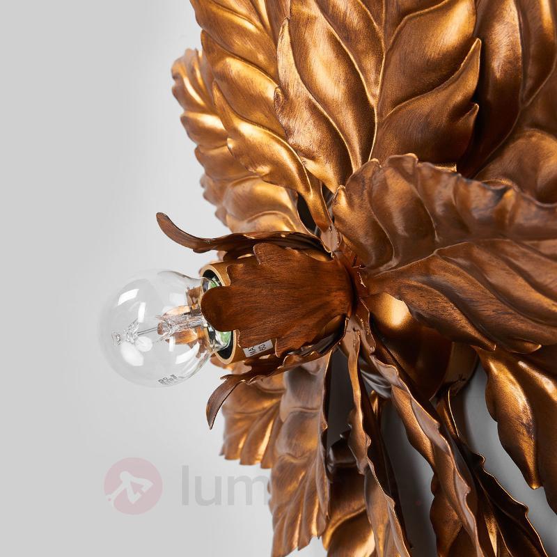 Plafonnier ANTIK avec feuillage doré - Plafonniers style florentin