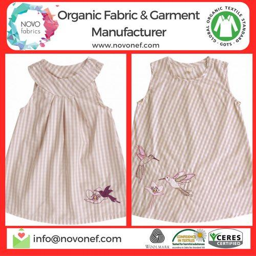 Private label Organic Cotton Baby Dresses Manufacturer