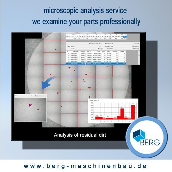 Service d'analyse microscopique - Nous vous proposons l'analyse microscopique