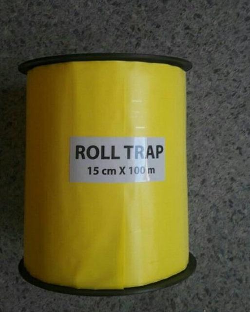 15 cm x 100 m Yellow Sticky Roll Trap - 15 cm x 100 m Yellow Sticky Roll Trap