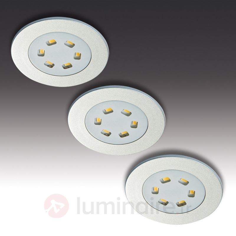 Set de 3 spots encastrables R 55 - Spots encastrés LED