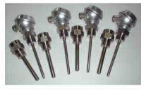 Sondes de température  - Pt100, thermocouples (thermocouples multi-points, thermocouples de peau)