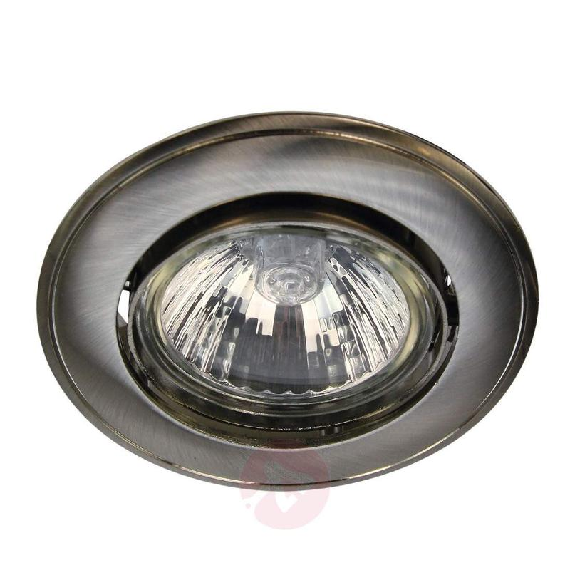 Tom recessed ceiling light with tension relief - High-Voltage Spotlights