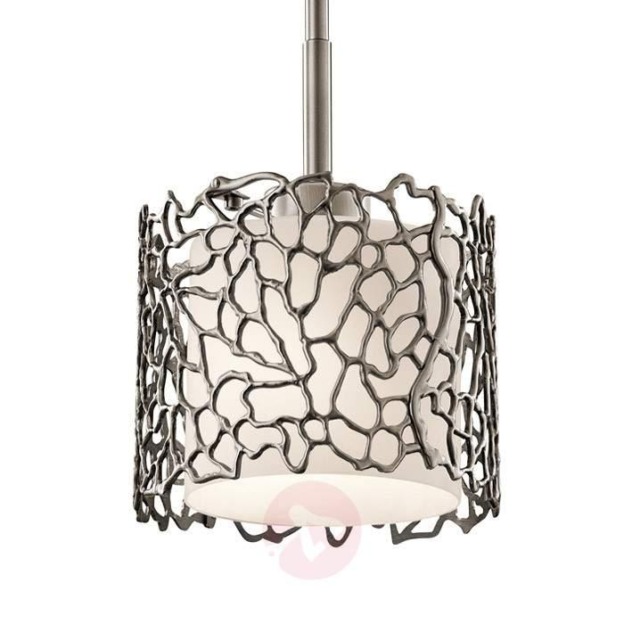Narrow hanging light Silver Coral, 18.4 cm - Pendant Lighting