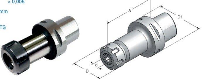 Werkzeugaufnahmen mit Polygonalschaft - null