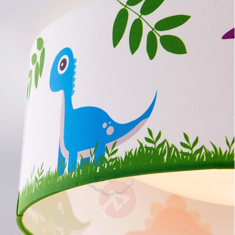 Dinoland fabric ceiling lamp for child's room, LED - Ceiling Lights