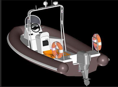 QR-MedBoat KL - Imbarcazione RIB per attività di Ricerca e Soccorso