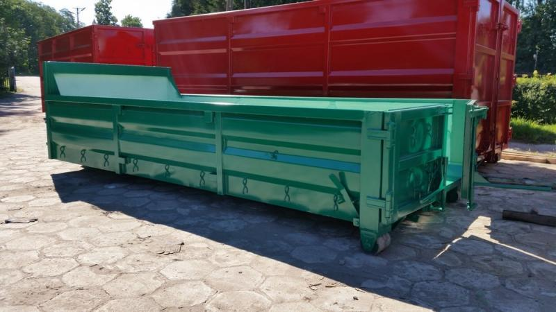 Eco / Pressed Sides Containers - Hooklift containers / roll-on roll-off containers
