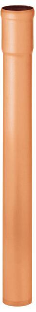 Standrohr 1,0 m - ohne Reinigungsdeckel - Kupfer - Regenstandrohre