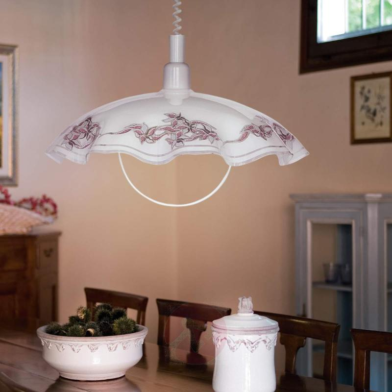 Decorative pendant light Vira with decoration - Pendant Lighting