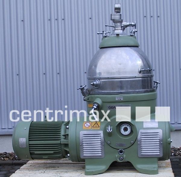 GEA Westfalia Nozzle Separator - HFH 8006 HK