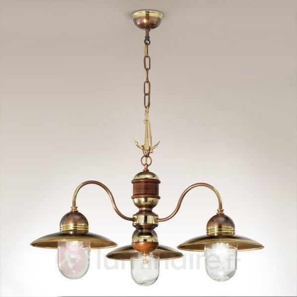 Lustre à 3 lampes Faro - Suspensions classiques, antiques
