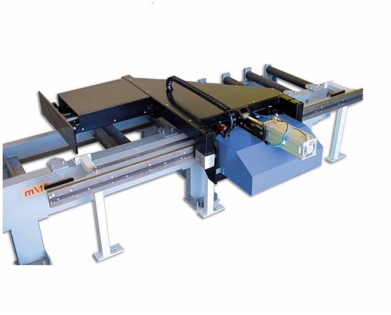 PD 3000 e – Motorischer Längenanschlag - PD 3000 e – Motorischer Längenanschlag