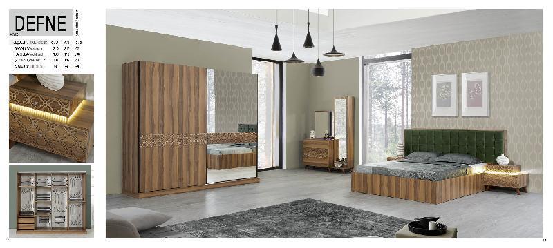 defne walnut bedroom -