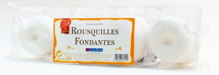 Rousquilles fondantes Sud de France - Épicerie sucrée