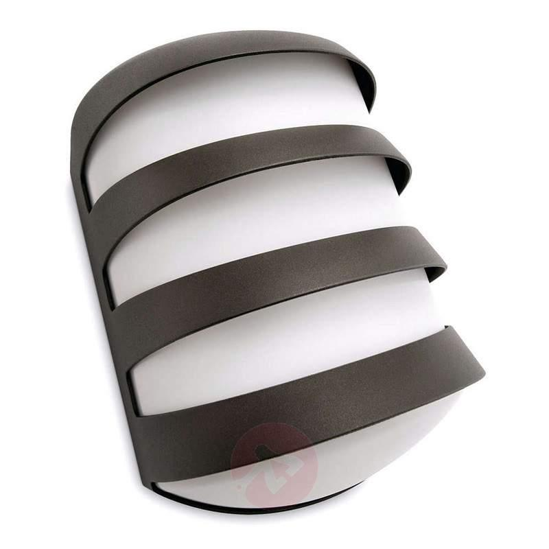 Anthracite-coloured Foliage outdoor wall light - Outdoor Wall Lights
