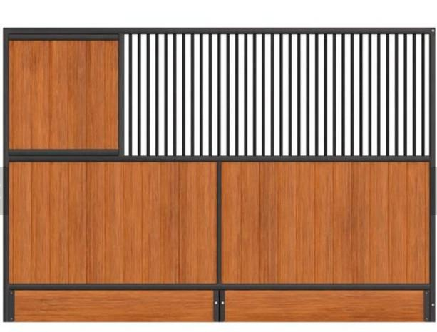 horse stall Panels  - European Internal Portable Horse Stall Panels