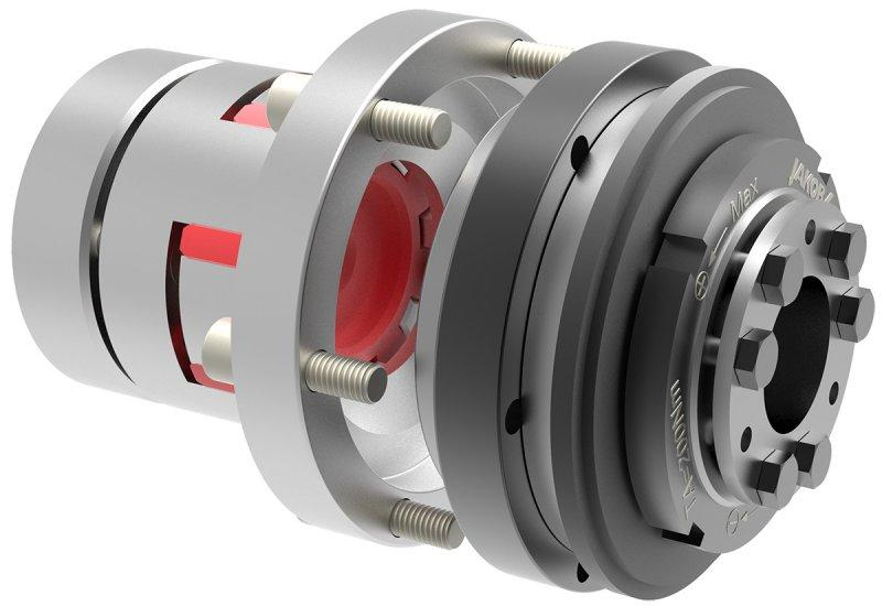 Safety coupling SKY-ES - Safety coupling with elastomer coupling attachment