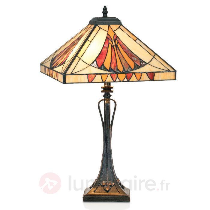 Lampe à poser AMALIA style Tiffany - Lampes à poser style Tiffany