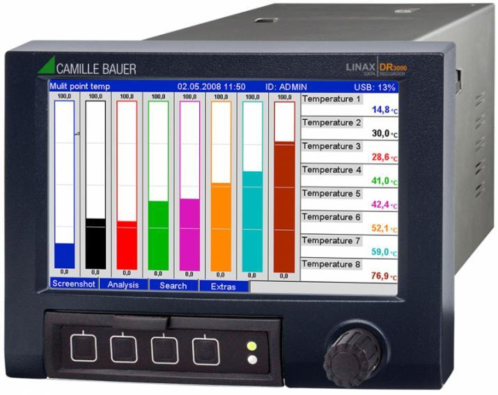 LINAX DR3000 - Enregistreur vidéographique