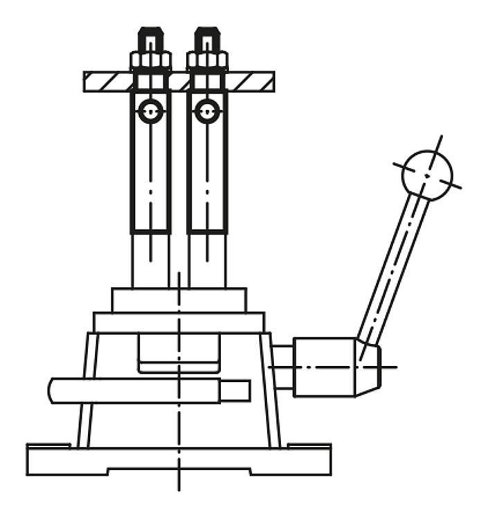 Rallonge de colonne longue - Dispositifs de perçage