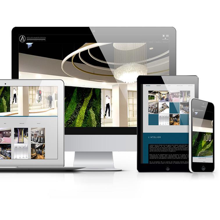 SIte internet ananta-design.com - créateur d'espace et de mobilier