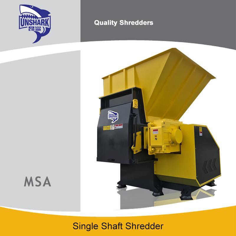 Economy Wood Pallet Single Shaft Shredder - Waste Shredder Unique Application Shredder