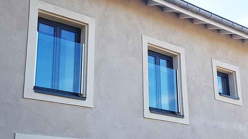Garde-Corps SKYFORCE®  - Système de Garde-Corps pour Fenêtre