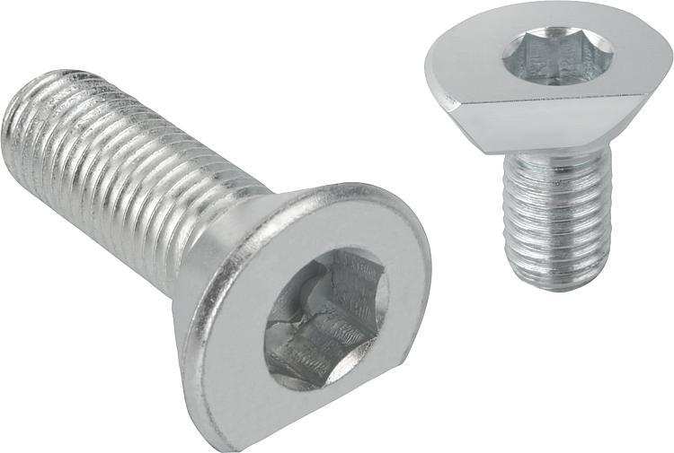 Spiral Cam Screws - Clamp straps Clamping devices