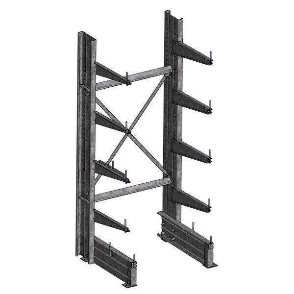 Rayonnage Cantilever - Rayonnage Cantilever Lourd : Stockage de charges longues et lourdes